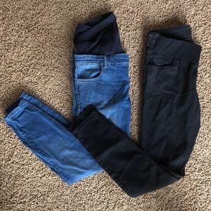 Bundle of ASOS maternity skinny jeans. Sz 8 (UK12)